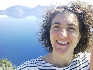 Happy me at Crater Lake.