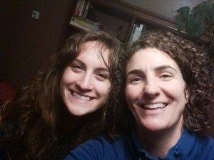 Lisa and I say adios.