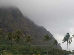 "Kualoa Ranch, on the way north, has hosted many film crews for shows like ""Jurassic Park"" and ""Lost."""